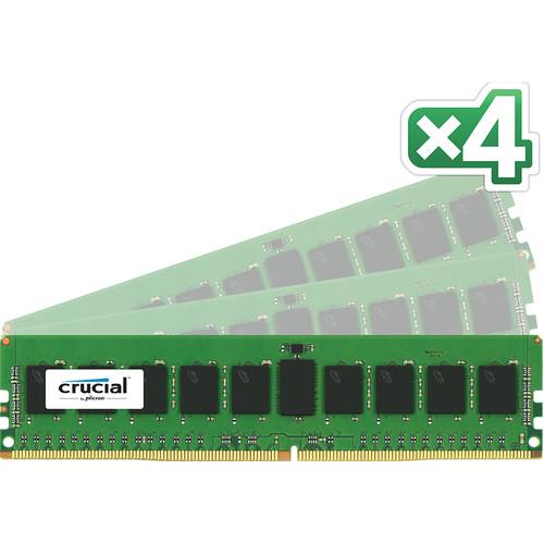 Crucial 32GB DDR4 2133 MHz RDIMM Memory Kit (4 x 8GB)