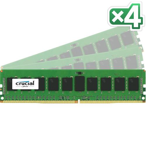 Crucial 32GB DDR4 2400 MHz RDIMM Memory Kit (4 x 8GB)