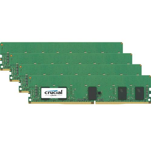 Crucial 32GB DDR4 2666 MHz RDIMM Memory Kit (4 x 8GB)
