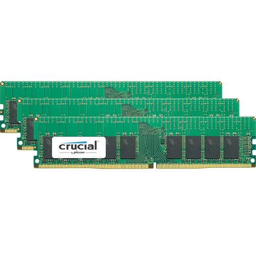 Crucial 32GB DDR4 2666 MT/s ECC UDIMM Memory Kit (4 x 8GB)