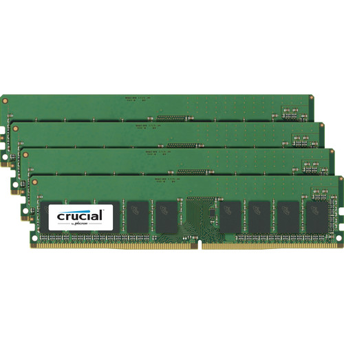 Crucial 32GB DDR4 2400 MHz UDIMM Module Kit (4 x 8GB)