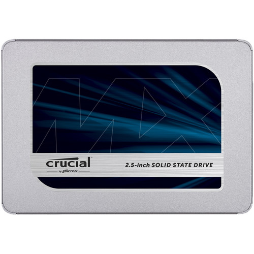 "Crucial 500GB MX500 2.5"" Internal SSD"