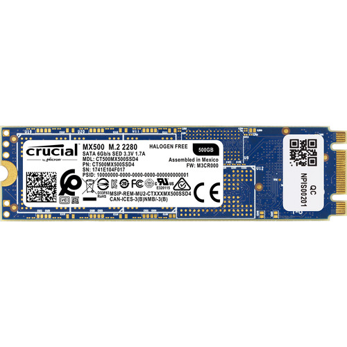 Crucial 500GB MX500 M.2 Internal SSD