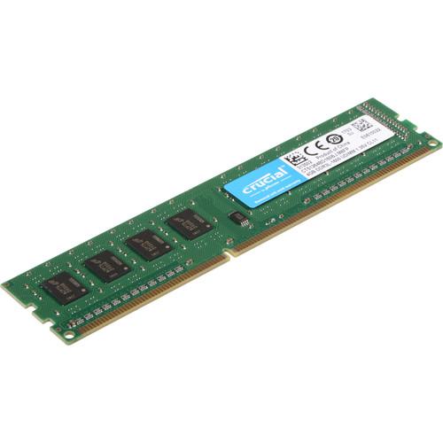 Crucial 4GB DDR3L 1600 MHz UDIMM Memory Module