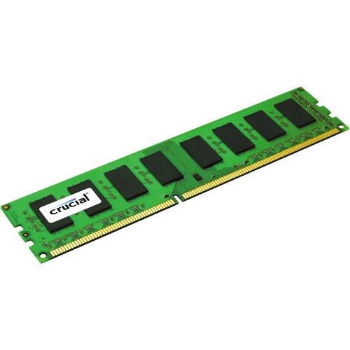 Crucial 4GB 240-Pin DIMM DDR3 PC3-12800 Memory Module