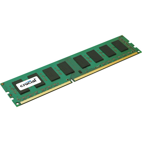 Crucial 4GB 240-Pin DIMM DDR3 PC3-12800 1600 MT/s Memory Module