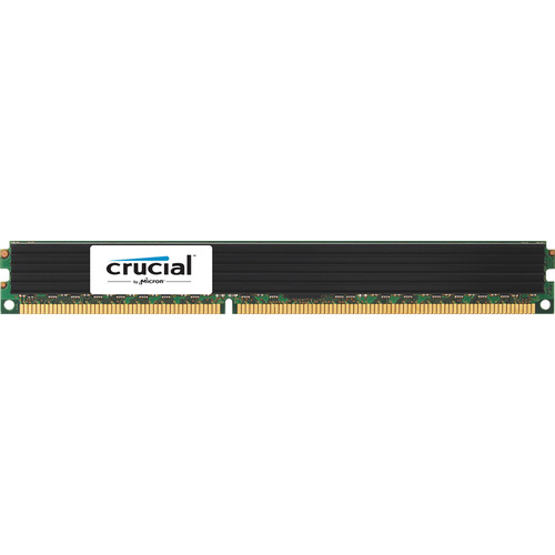 Crucial 8GB 240-Pin RDIMM DDR3 PC3-12800 VLP Memory Module
