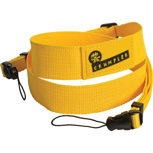Crumpler Boom Camera Strap (Yellow)