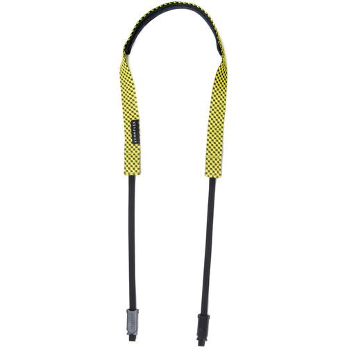 Crumpler Check Strap Camera Strap (Cameo Gray/Yellow)
