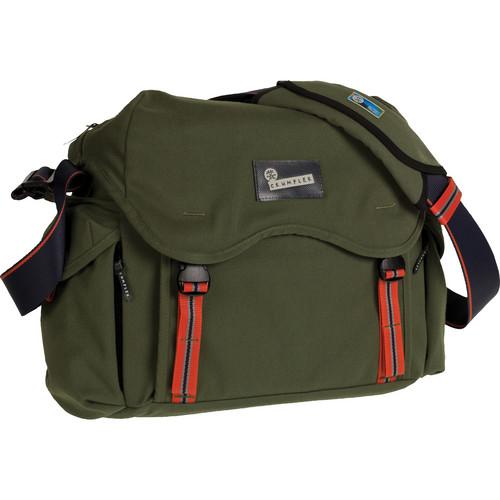 Crumpler Cobram Outpost Pro Camera Laptop Shoulder Bag (Rifle Green)
