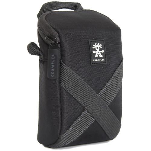 Crumpler Drewbob Camera Pouch 100 (Ripstop Nylon, Black/Black Anthracite)