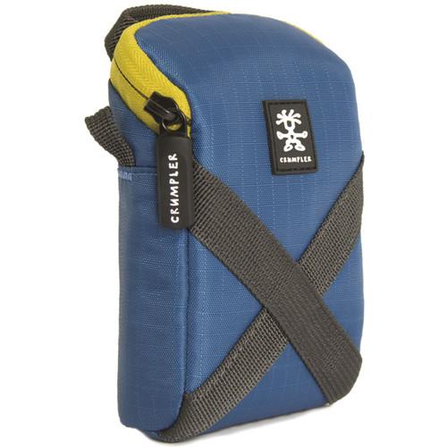Crumpler Drewbob Camera Pouch 100 (Ripstop Nylon, Sailor Blue/Lime)