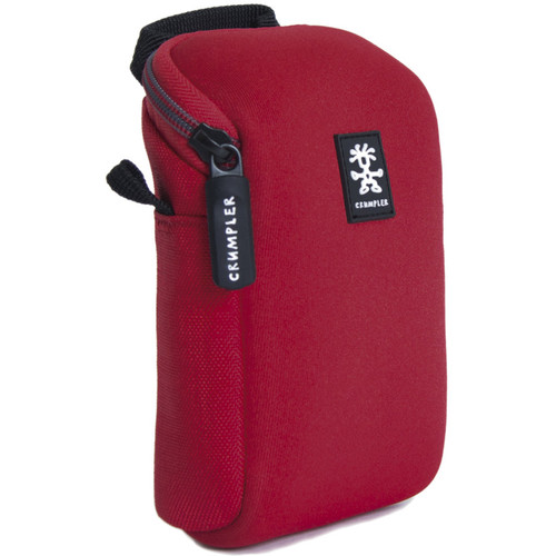 Crumpler Drewbob Camera Pouch 100 (Neoprene, Red)