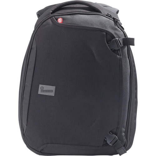 "Crumpler Dry Red No 6 15"" Laptop Travel Backpack (Black)"