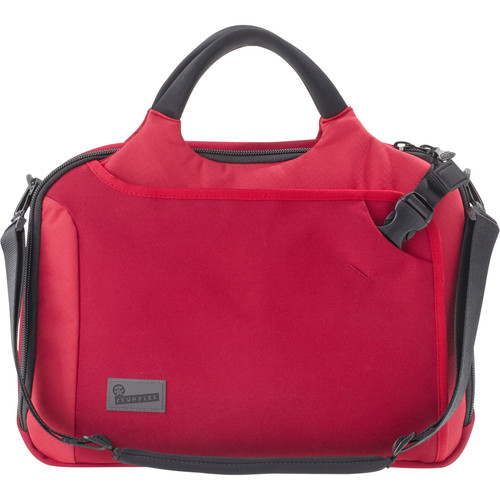 """Crumpler Dry Red No 7 15"""" Laptop Briefcase (Red)"""