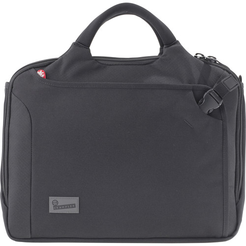"Crumpler Dry Red No 8 17"" Laptop Briefcase (Black)"