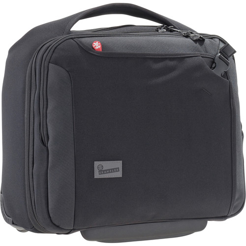 Crumpler Dry Red No. 9 Laptop Briefcase on Wheels (Black)
