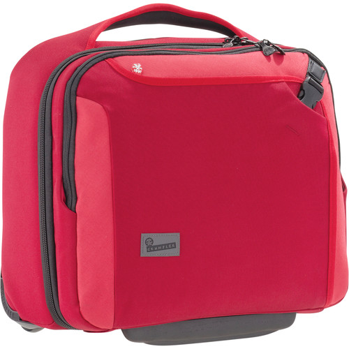 Crumpler Dry Red No. 9 Laptop Briefcase on Wheels (Red)