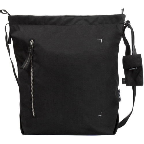 Crumpler Doozie Photo Shoulder Bag (Medium, Black/Metallic Silver)