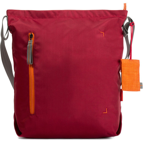 Crumpler Doozie Photo Shoulder Bag (Medium, Deep Red/Carrot)