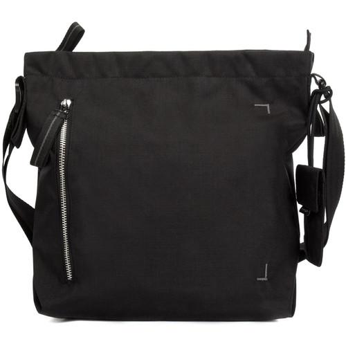 Crumpler Doozie Photo Shoulder Bag (Small, Black/Metallic Silver)