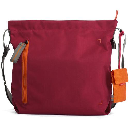 Crumpler Doozie Photo Shoulder Bag (Small, Deep Red/Carrot)