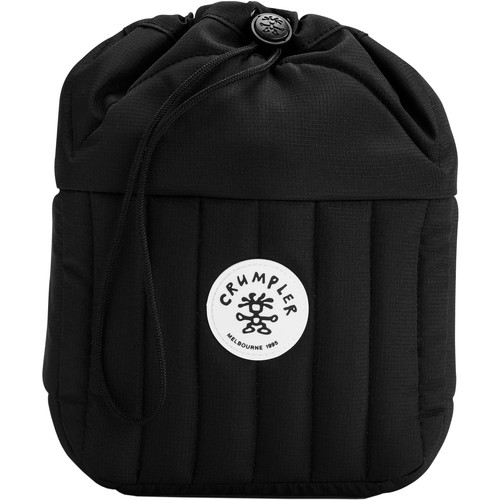Crumpler Haven Drawstring Pouch for Camera & Accessories (Medium, Black)