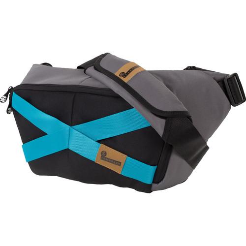 Crumpler Mild Enthusiast Large Sling Pack (Black & Gunmetal)