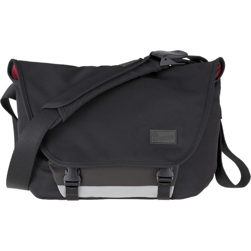 "Crumpler Moderate Embarrassment Messenger Bag for 13"" Laptop (Black)"