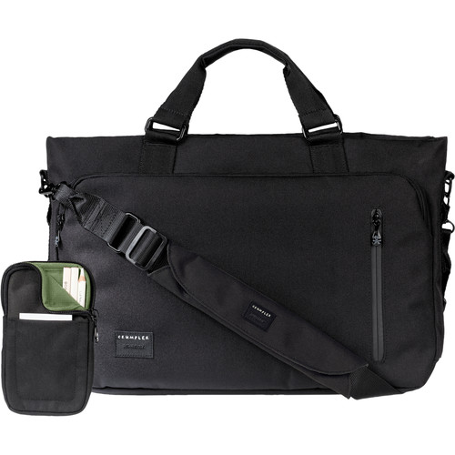 "Crumpler Milestone Moment 13"" Laptop Briefcase (Small, Black)"