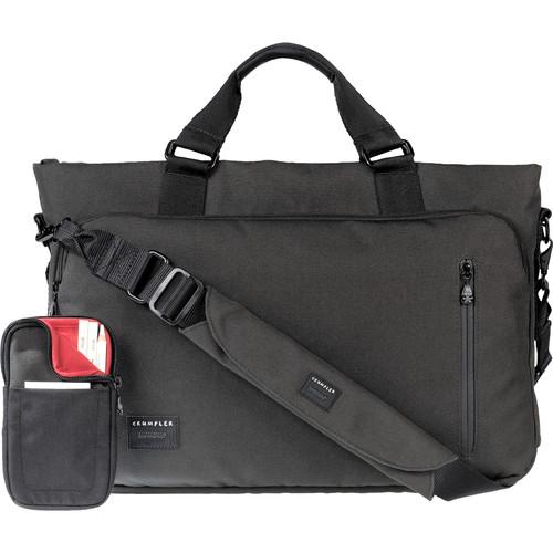 "Crumpler Milestone Moment 13"" Laptop Briefcase (Small, Gunmetal)"