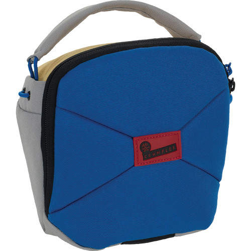 Crumpler Pleasure Dome Camera Shoulder Bag (Medium, Blue and Gray)