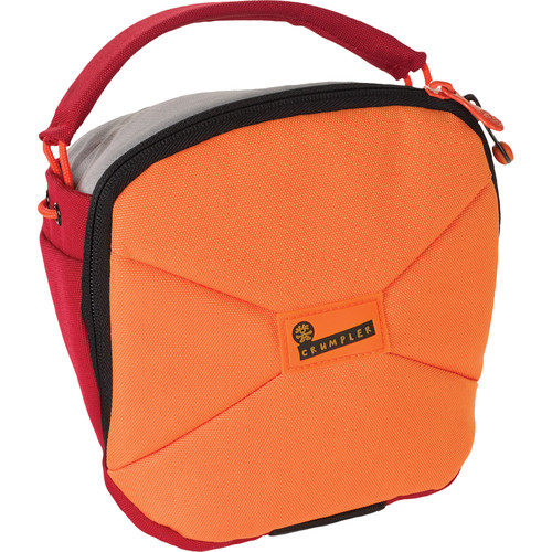 Crumpler Pleasure Dome Camera Shoulder Bag (Medium, Orange and Red)