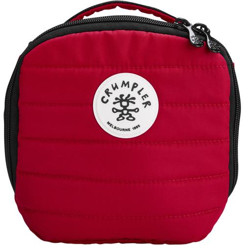 Crumpler The Pleasure Dome Camera Bag/Pouch (Medium, Red)