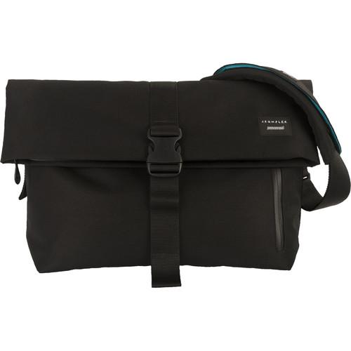 "Crumpler Pinnacle of Horror 15"" Laptop Shoulder Bag (Black)"