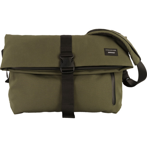 "Crumpler Pinnacle of Horror 15"" Laptop Shoulder Bag (Rifle Green)"