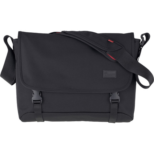 Crumpler Skivvy Commuter Style Shoulder Bag (Large, Black)