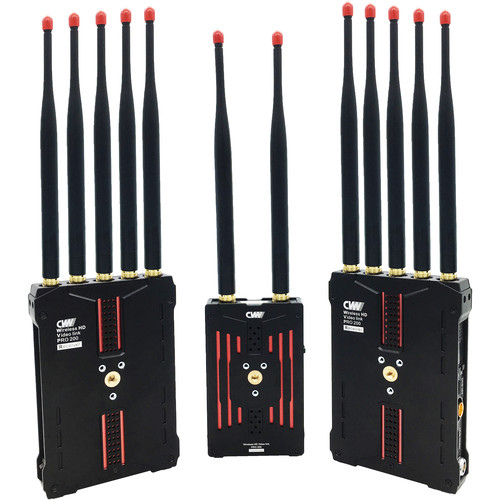 Crystal Video Technology Pro200R Wireless HD Multifunctional Video Transmission System