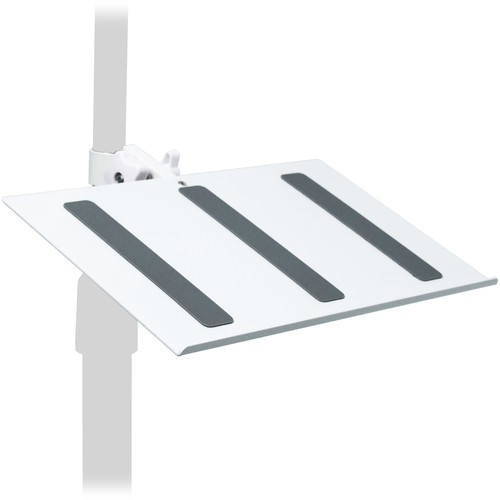 CTA Digital Adjustable Keyboard Stand Add-On for Tablet Floor Stands