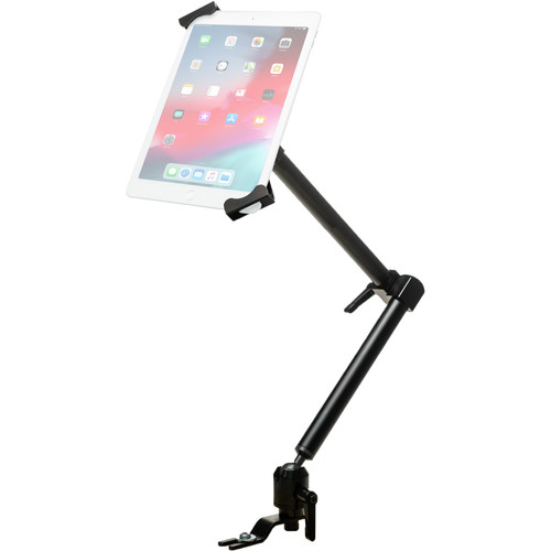 """CTA Digital Aluminum Vehicle Mount for 7 to 14"""" Tablets (Security)"""