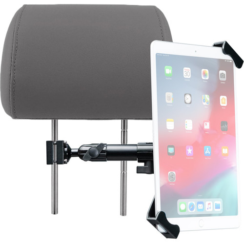 "CTA Digital Vehicle Headrest Flex Mount for 7 to 14"" Tablets (Security)"
