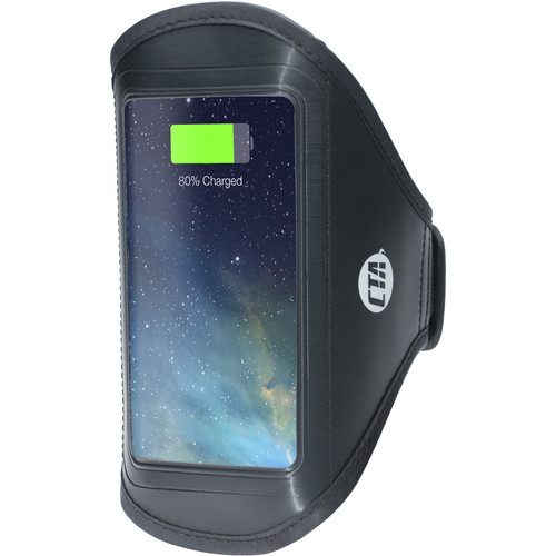 CTA Digital 4000mAh Armband Battery Pack for Lightning Smartphones