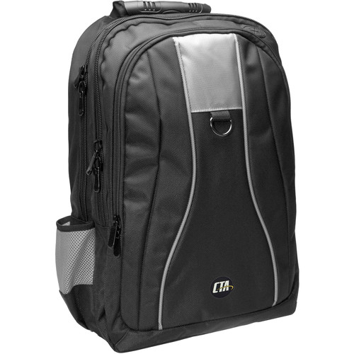CTA Digital Universal Gaming Backpack for Consoles (Black/Gray)