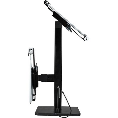 "CTA Digital Angle-Adjustable Twin Tablet Stand for 7-10"" Tablets"