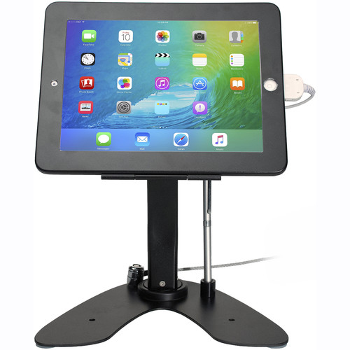 CTA Digital Dual Security Kiosk Stand with Locking Case and Cable (for iPad and iPad Air)