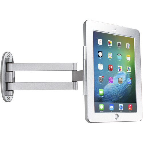 CTA Digital Articulating Wall Mounting Security Enclosure for iPad Air, iPad Pro 9.7, and iPad