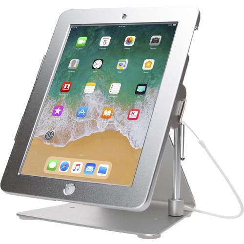 "CTA Digital Desktop Anti-Theft Stand for iPad, iPad Air, and iPad Pro 9.7"" (Silver)"