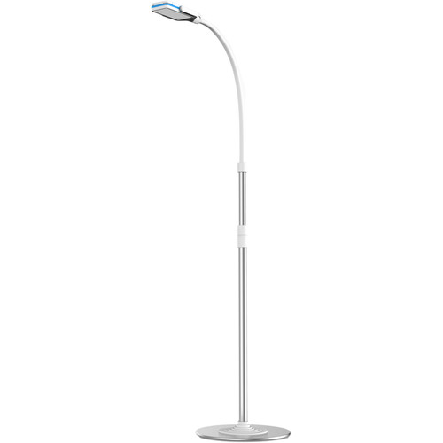 CTA Digital 2-in-1 Flexible Floor Stand LED Lamp and Mount