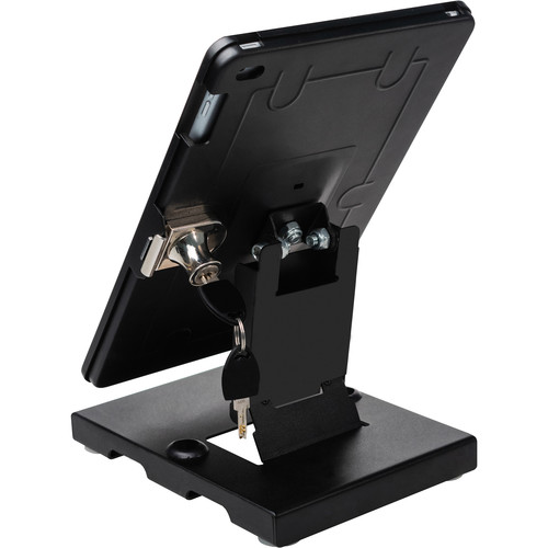 "CTA Digital Flat-Folding Tabletop Security Stand for iPad Air 3, iPad Pro 10.5"", & iPad 7th Gen"
