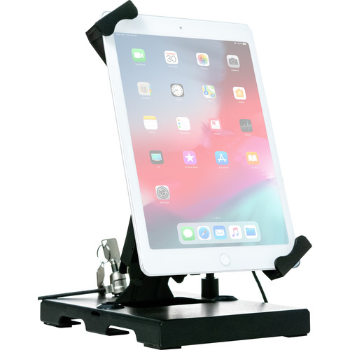"""CTA Digital Flat-Folding Tabletop Security Stand for 7-14"""" Tablets"""